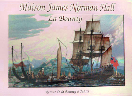 retour de la Bounty à Tahiti, James Norman Hall